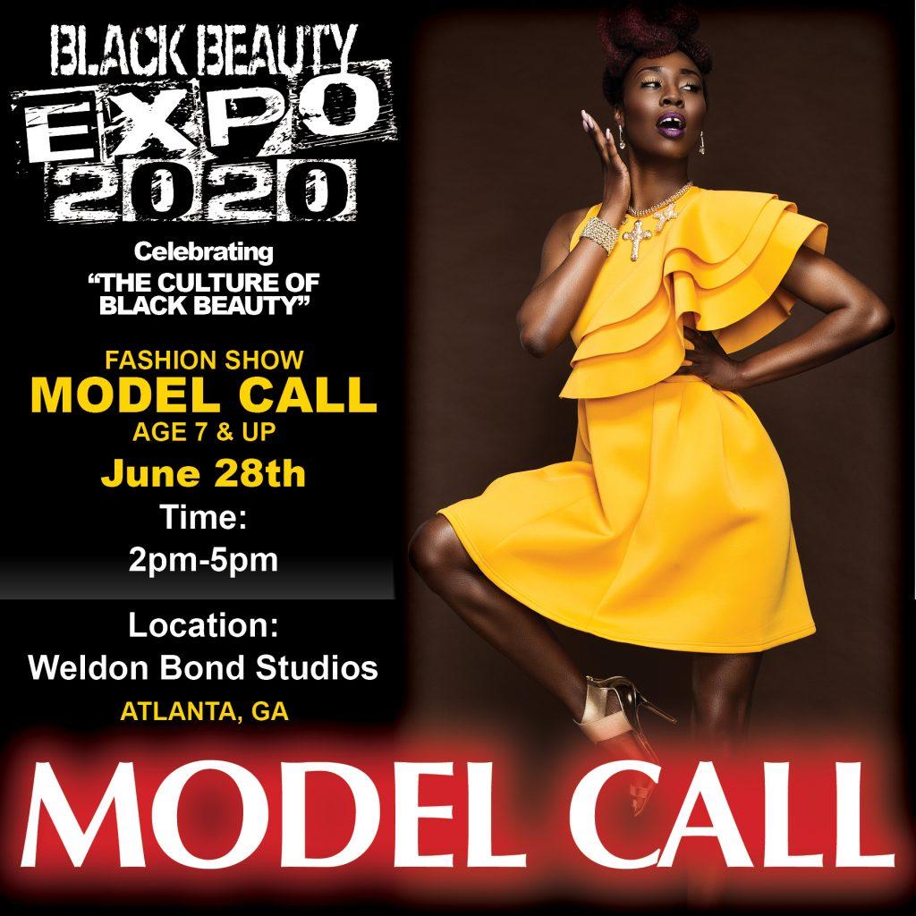 Black Beauty Expo Model Call